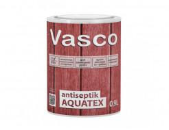 Водоразбавляемая, лессирующая пропитка-антисептик для дерева Vasco Antiseptik AQUATEX прозрачная