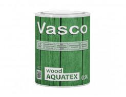 Водоразбавляемая, лессирующая пропитка для дерева Vasco Wood AQUATEX прозрачная - интернет-магазин tricolor.com.ua