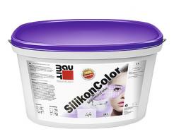 Краска фасадная силиконовая Baumit SilikonColor водоотталкивающая эластичная