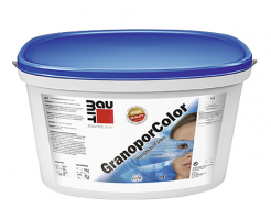 Краска фасадная акриловая Baumit GranoporColor водоотталкивающая
