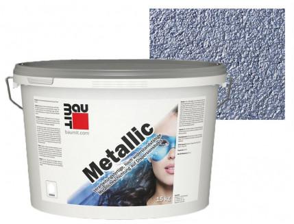 Краска акриловая Baumit Metallic 756М Azurit - интернет-магазин tricolor.com.ua