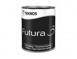 Матовая алкидная грунтовочная краска общего применения Teknos Futura 3 База 3