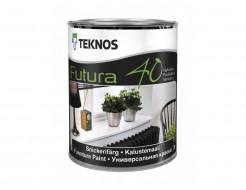 Полуглянцевая желеобразная уретано-алкидная краска Teknos Futura 40 База1