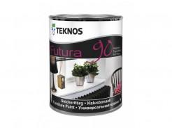 Полностью глянцевая желеобразная уретано-алкидная краска Teknos Futura 90 База1