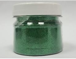 Глиттер GG/0,1 мм (1/256) зеленый Tricolor