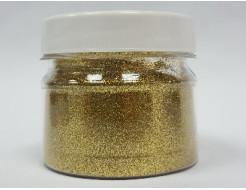 Глиттер GGO/0,1 мм (1/256) золотой Tricolor