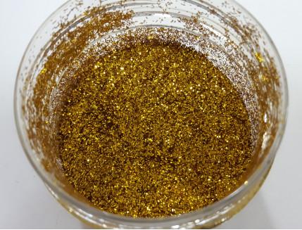 Глиттер GGO/0,4 мм (1/64) золотой Tricolor - изображение 2 - интернет-магазин tricolor.com.ua