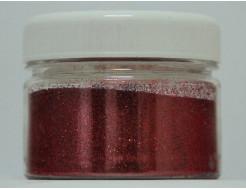 Глиттер GR/0,1 мм (1/256) красный Tricolor