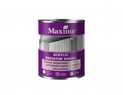 Эмаль акриловая для радиаторов отопления Maxima глянцевая белая