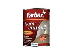 Эмаль алкидная  ПФ-266 Farbex для пола красно-коричневая - интернет-магазин tricolor.com.ua