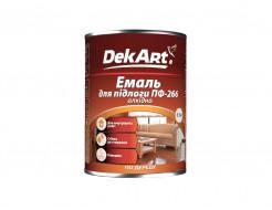 Эмаль алкидная ПФ-266 DekArt красно-коричневая