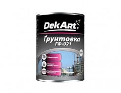 Грунтовка ГФ-021 DekArt красно-коричневая - интернет-магазин tricolor.com.ua