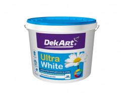 Краска интерьерная для стен и потолков белоснежная