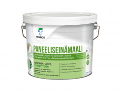 Краска для панельных стен Teknos Paneeliseinämaali База 3