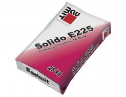 Стяжка цементная Baumit Solido E225 для пола 12-80 мм