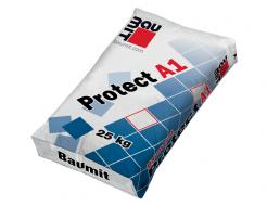 Гидроизоляция цементная Baumit Protect A1 паропроницаемая под облицовку