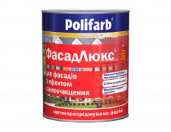 Профессиональная краска для фасадов зданий и сооружений Polifarb Фасадлюкс матовая белая - интернет-магазин tricolor.com.ua