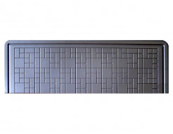 Плита под памятник №1 (Стеклопластик) Мастера Форм 200х65х6 см