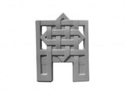 Форма оградки №4 (АБС) Мастера Форм 55х70х4 см