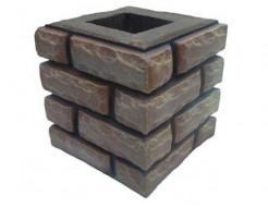 Форма Столб наборной К3 Стеклопластик Мастера Форм 23,5х23,5х25