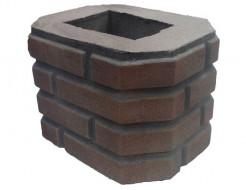 Форма Столб наборной К6 Стеклопластик Мастера Форм 25,5х33,5х23,5
