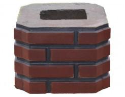 Форма Столб наборной К8 Стеклопластик Мастера Форм 33х33х23,5