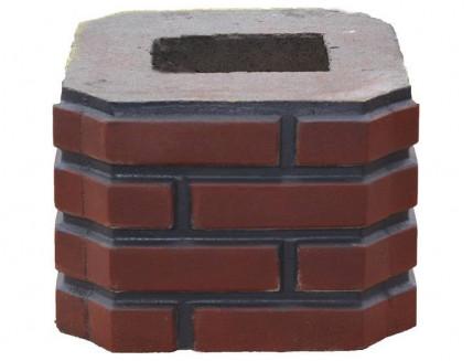 Форма Столб наборной К8 Стеклопластик MF 33х33х23,5