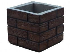 Форма Столб наборной К10 Стеклопластик Мастера Форм 31х31х27,5
