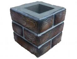Форма Столб наборной К19 Стеклопластик Мастера Форм 25х25х25