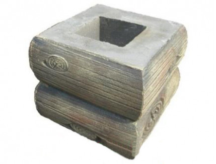 Форма Столб наборной Брус1 Стеклопластик MF 29,5х29,5х24,5