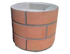 Форма Столб наборной Круглый1 Стеклопластик Мастера Форм 25х25х30