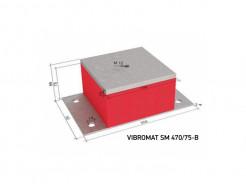 Виброизолирующая опора для инженерного оборудования Vibromat SM 470/75-B