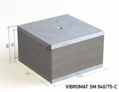Виброизолирующая опора для инженерного оборудования Vibromat SM 940/75-C