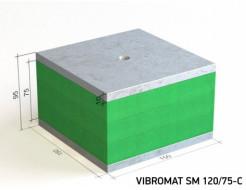Виброизолирующая опора для инженерного оборудования Vibromat SM 120/75-C