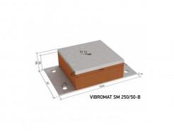 Виброизолирующая опора для инженерного оборудования Vibromat SM 250/50-B