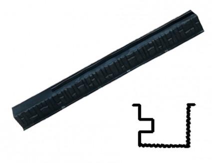 Форма столба №19 Песчаник АБС BF 285х15х13,5 двусторонняя распашная с пазом