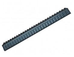 Форма накрытие забора Гребень черепица АБС BF 193х18,5х8