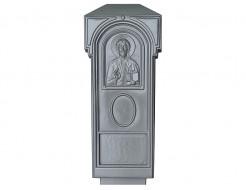 Форма для памятника №007 АБС BF 110х50х10