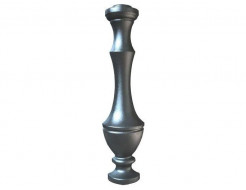 Форма балясины 3 №10 АБС BF 67,5х17