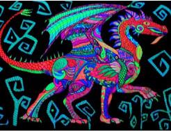 Краска флуоресцентная AcmeLight для оракала голубая