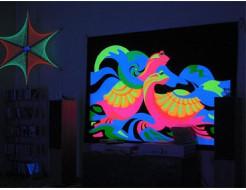 Краска флуоресцентная AcmeLight для оракала оранжевая