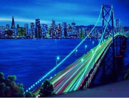 Краска флуоресцентная AcmeLigh для фасада зеленая