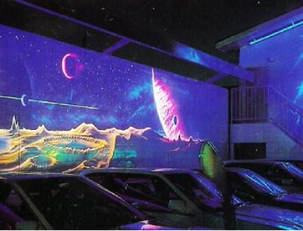 Краска флуоресцентная AcmeLigh для фасада оранжевая