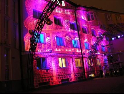 Краска люминесцентная AcmeLight для фасада розовая - интернет-магазин tricolor.com.ua