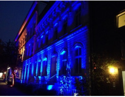 Краска люминесцентная AcmeLight для фасада синяя - интернет-магазин tricolor.com.ua