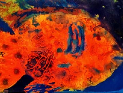 Краска люминесцентная AcmeLight для интерьера оранжевая - изображение 2 - интернет-магазин tricolor.com.ua