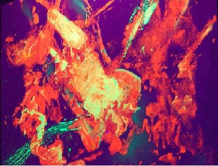 Краска люминесцентная AcmeLight для интерьера оранжевая - интернет-магазин tricolor.com.ua