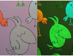 Краска люминесцентная AcmeLight для интерьера классик - интернет-магазин tricolor.com.ua
