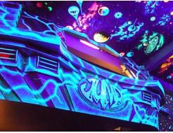 Краска флуоресцентная AcmeLight для интерьера синяя - интернет-магазин tricolor.com.ua