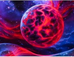 Краска флуоресцентная AcmeLight для интерьера красная - интернет-магазин tricolor.com.ua